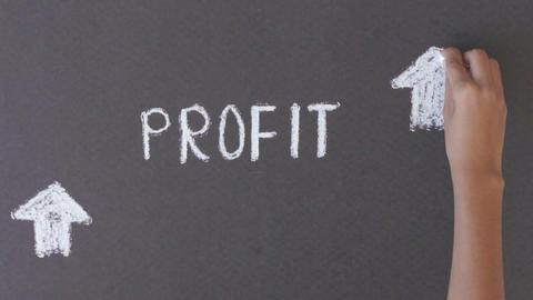 Profit Illustration Stock Video Footage