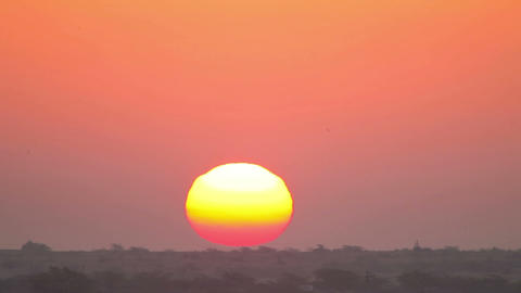 Indian Sunrise Footage