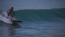 Surfing Stock Video Footage