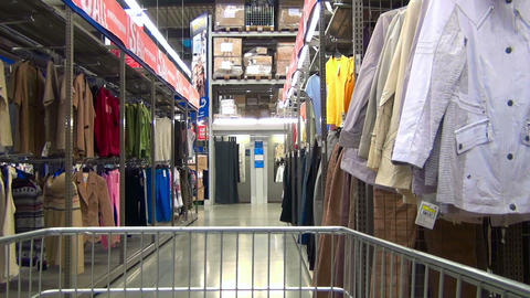 Clothing store Stock Video Footage