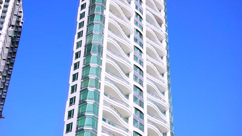 Tall Modern Building Stock Video Footage
