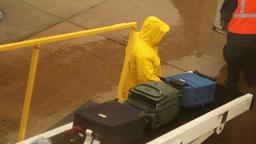Baggage Handler Footage