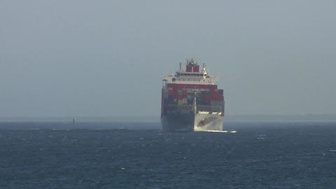 Container Ship 020 Footage