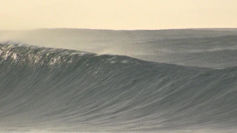 Waves Byron Bay Stock Video Footage