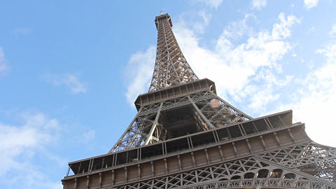 Eiffel Tower in Paris Footage