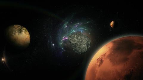 meteor 2 Stock Video Footage