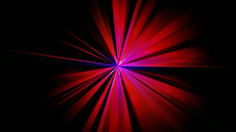 radial digital rays Stock Video Footage