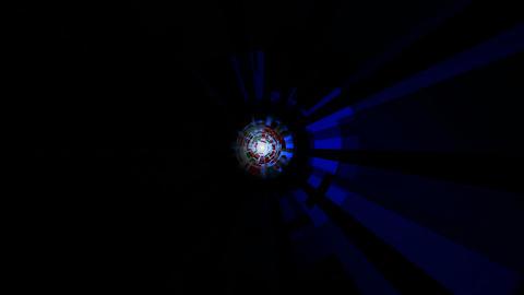 digital core blue Stock Video Footage