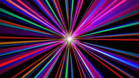 colorful sun line Stock Video Footage