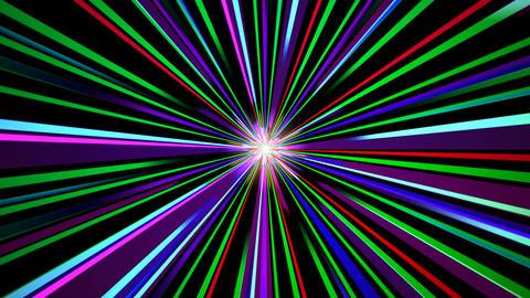 colorful sun line Animation