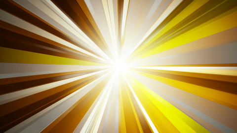 volumetric golden rays Stock Video Footage