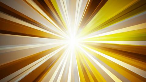 volumetric golden rays Stock Video Footage