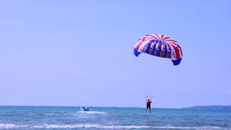 Parasail Takeoff Footage