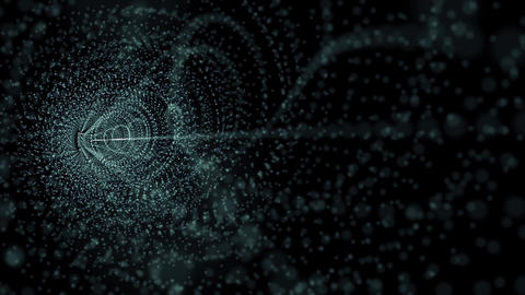 particles 3d Stock Video Footage
