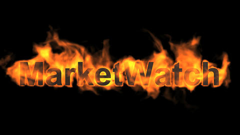 flame market watch word Animation
