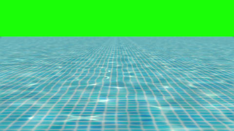 POOL blue green Stock Video Footage