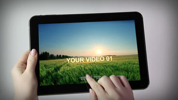 TABLET After Effects Template