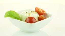 Fresh salad Stock Video Footage