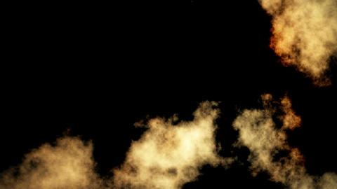 burning grunge map Stock Video Footage