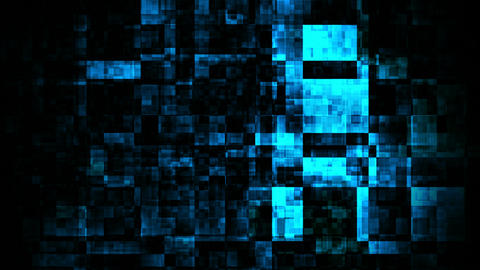 Blue Glow Darkness stock footage