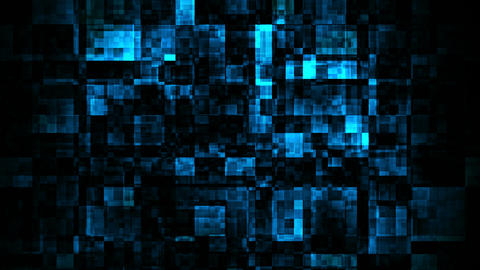 blue glow darkness Stock Video Footage
