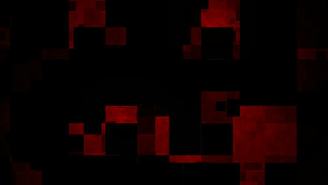crazy red mosaic Stock Video Footage