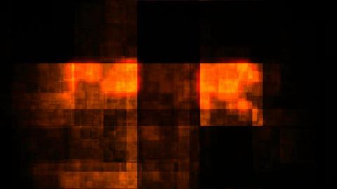 mosaic glowing grunge Stock Video Footage