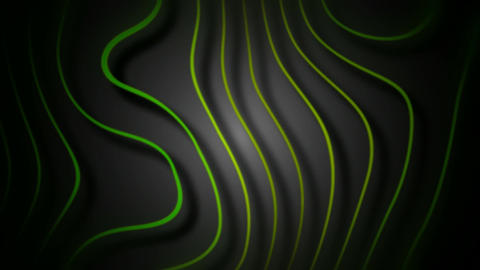 abstract green root Animation