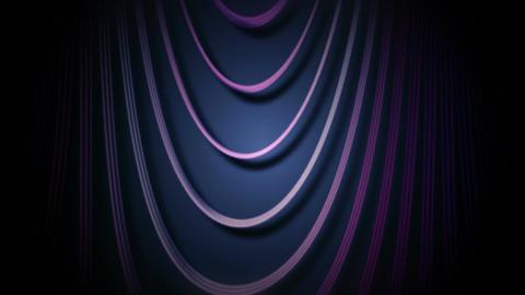 purple line curtain Stock Video Footage