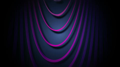 purple line curtain Animation