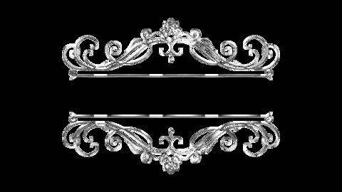 Silver ornament01 Animation