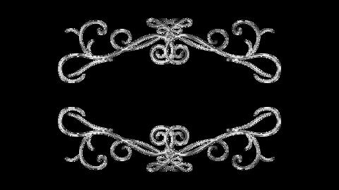 Silver ornament02 Animation