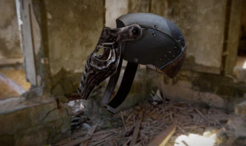 Metal helmet 3D Model