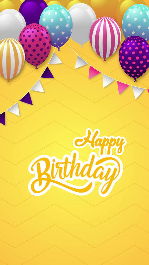 Happy Birthday II Slideshow After Effects Template