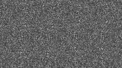 Sandstorm Noise Black Animation