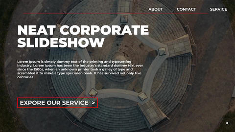 Neat Corporate Slideshow After Effects Template