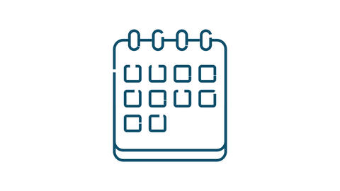Office icon. Web icon set. Office, great design for any purposes. stock Animation