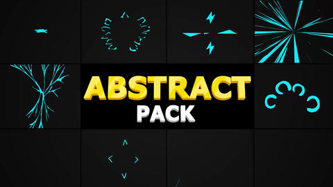Abstract Pack After Effects Template
