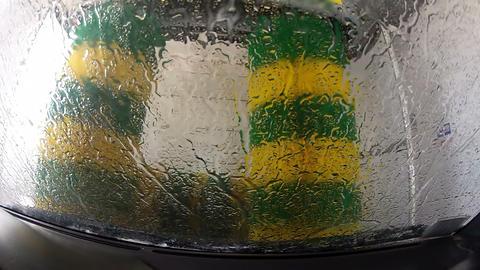 Automatic car wash Footage