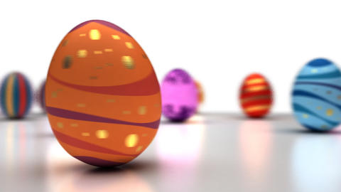 Easter Eggs Dancing Animation