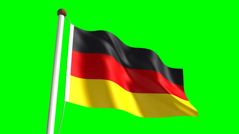 Germany flag Animation