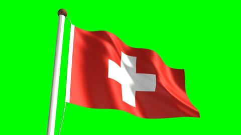 Denmark flag Animation