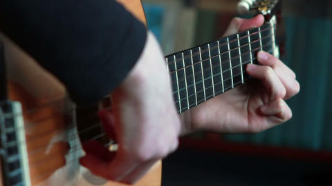Gitarre spielen 4 Footage