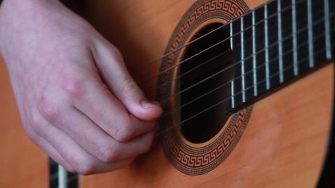 Gitarre spielen 6 Footage