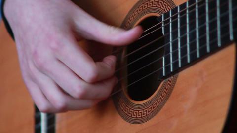 Gitarre spielen 6 Stock Video Footage
