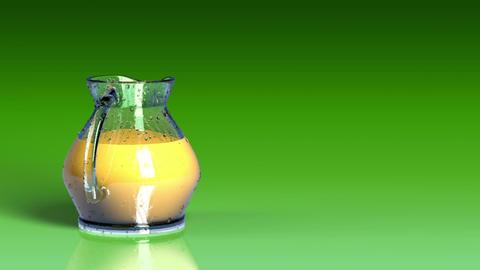 Fresh Juice Background Stock Video Footage
