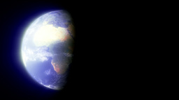 The Planet Earth (Realistic) Stock Video Footage
