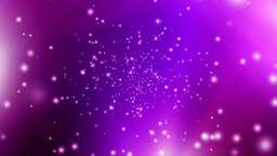 Purple Particles Stock Video Footage