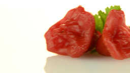 Red peppers Stock Video Footage