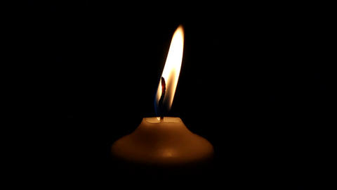 Candle Stock Video Footage